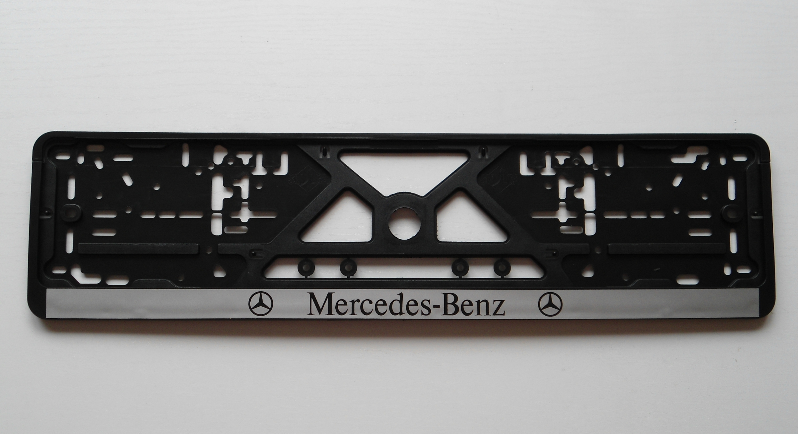 Please help me with license plate placement for Mercedes benz support number