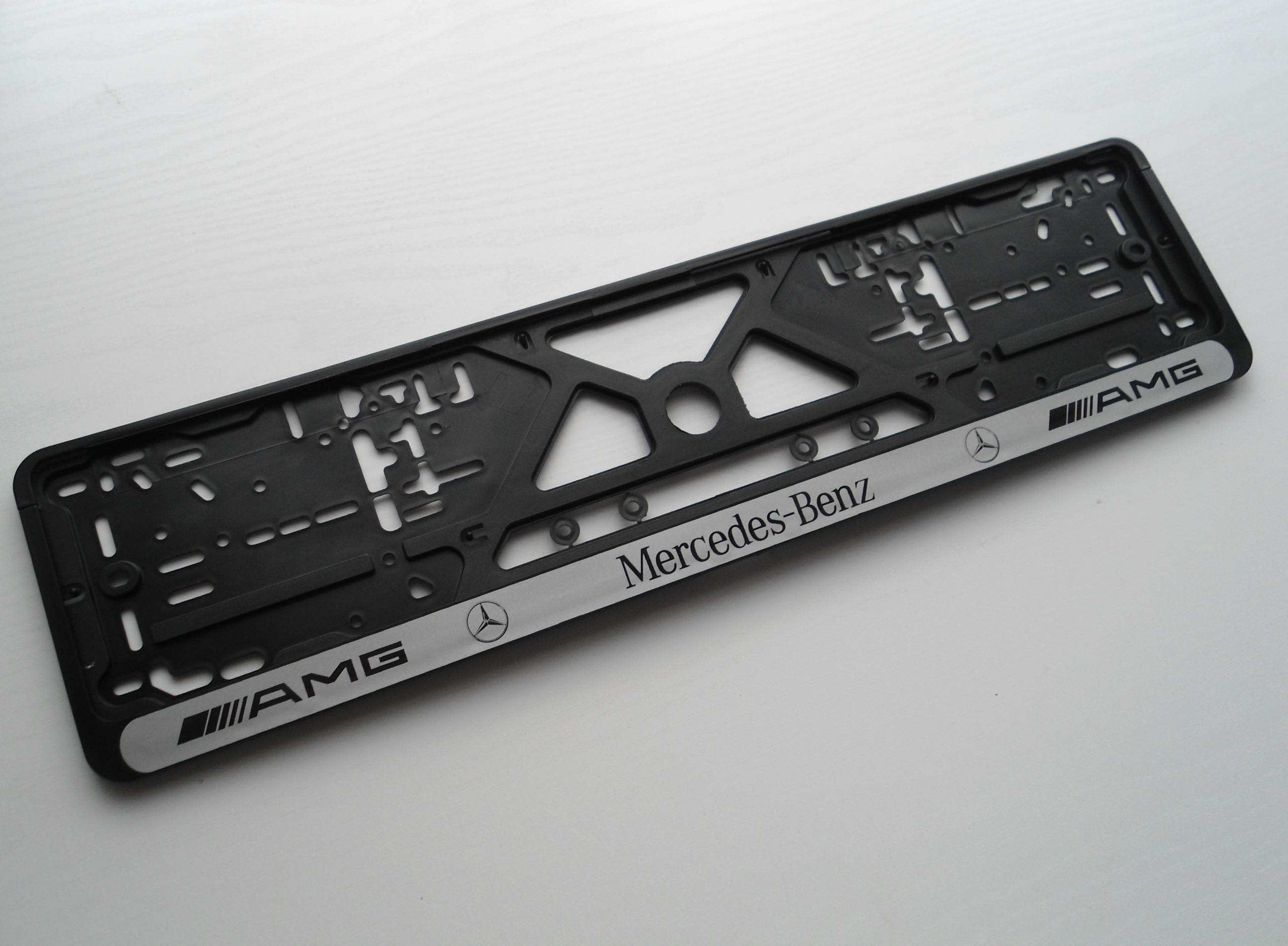 1x mercedes benz amg car number plate surrounds holder for Mercedes benz number plate holder