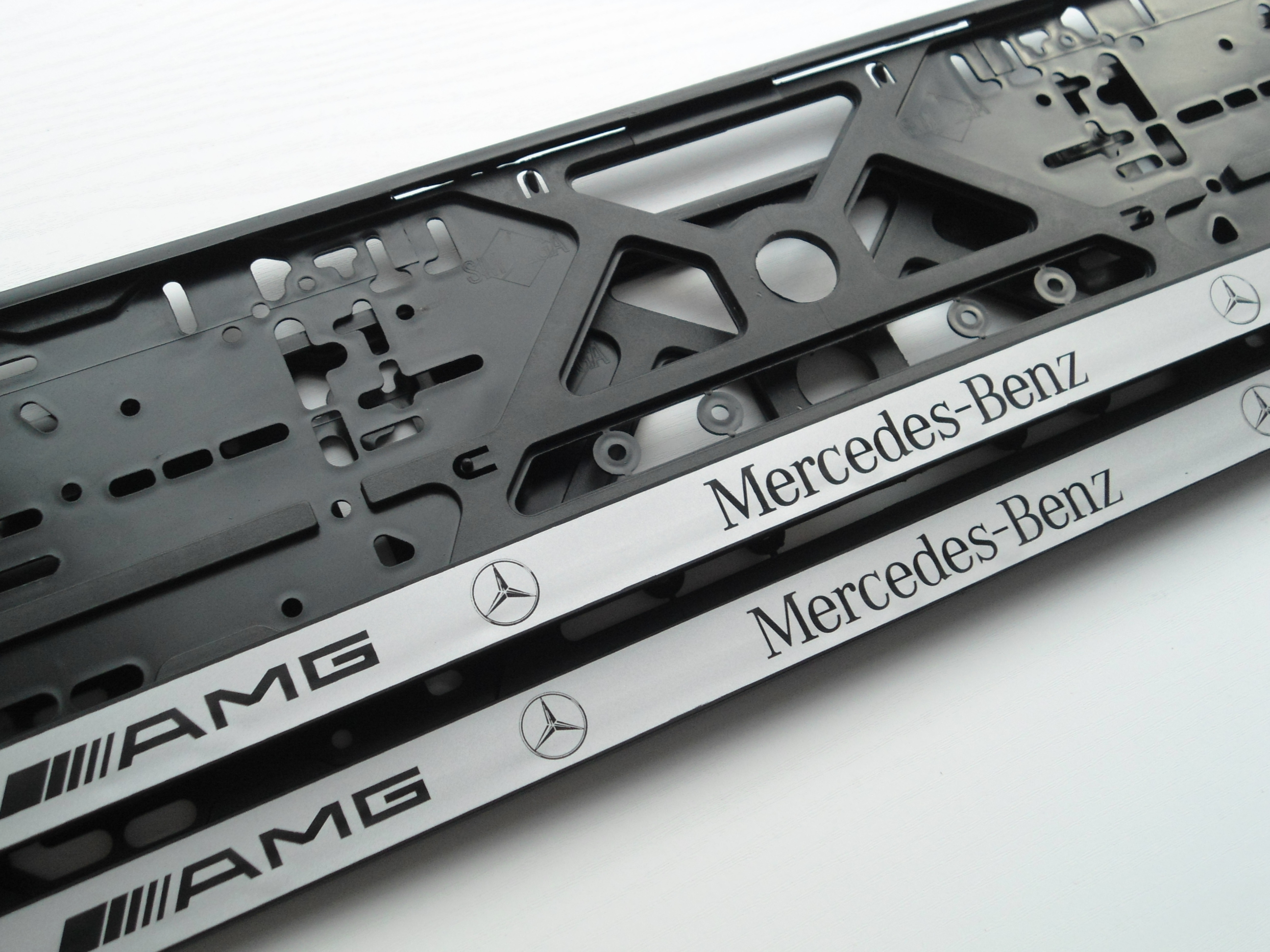 Mercedes benz number plate holder for Mercedes benz support number