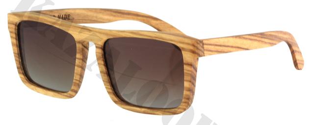 Best Wood Frame Glasses : Flat Top Wood Frame Polarized lens Sunglasses occhiali da ...