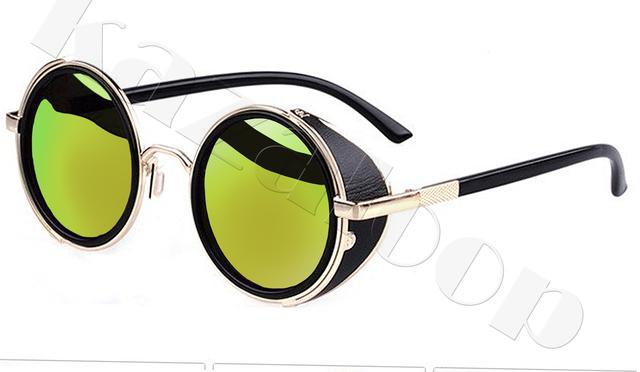 Spiegel gläser Brillen Cyber Schutzbrille Steampunk ...