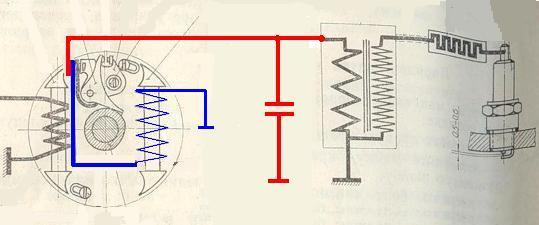 двигатель д8 схема проводки